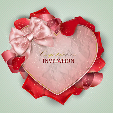 love and romantic invitation cards
