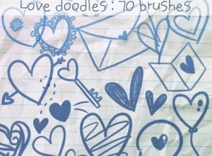 Love Doodles Brushes 2