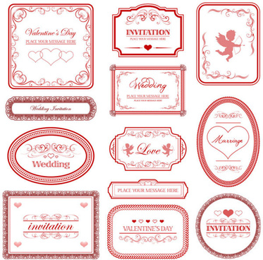 Love Letter Frame Free Vector Download 12 674 Free Vector For