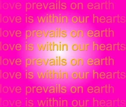 love graphic mantra