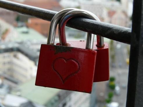 love locks castles padlocks