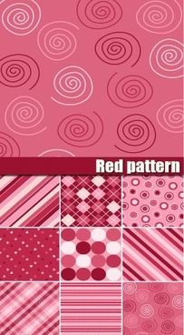 lovely background pattern vector