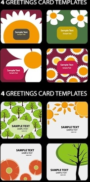 lovely card background vector