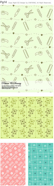 lovely child elements background 1 vector graphic