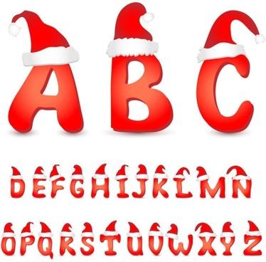 lovely christmas letter 02 vector