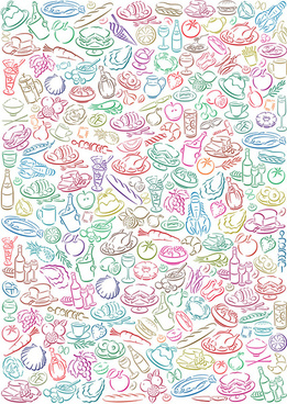 lovely diet background art