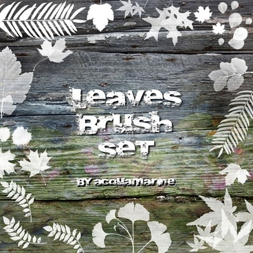 Lovely Leaves Brush Set