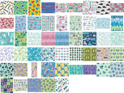 lovely pattern background 4