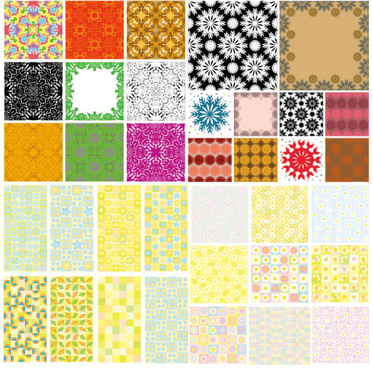 lovely pattern background vector
