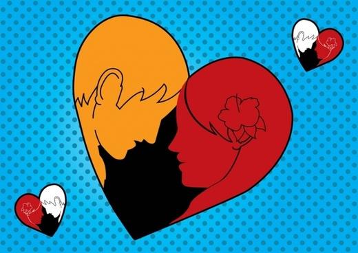 Loving Man Woman Heart