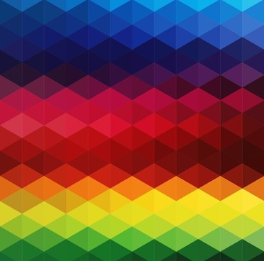 low poly style colorful background vector illustration