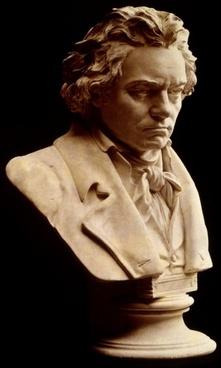 ludwig van beethoven bust composer