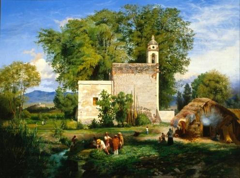 luis coto church mountains