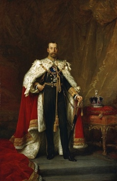 luke fildes king george v england