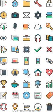 lulu icons set