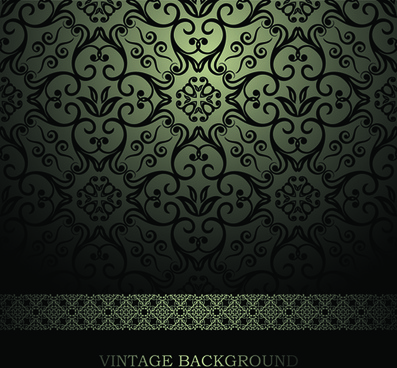 luxurious damask patterns background