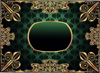 Antique Gold Frame Vector Free Vector Download 8482 Free Vector