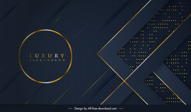 luxury background golden black decor abstract design