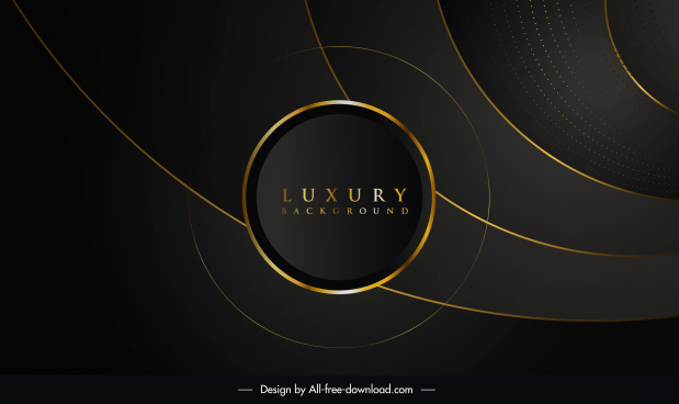 luxury background template dark design elegant golden motion