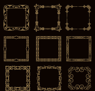 Classical frame free vector download (13,286 Free vector