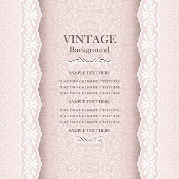 luxury design vintage backgrounds vector