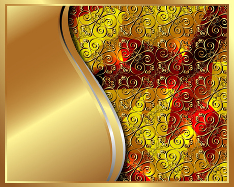 luxury golden vector background