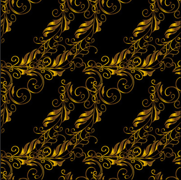 luxury ornament floral pattern seamless vecrtor