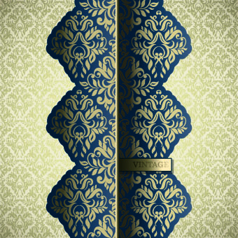 luxury pattern vintage vector background