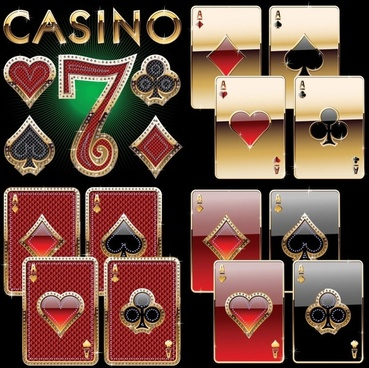 luxury poker clip art
