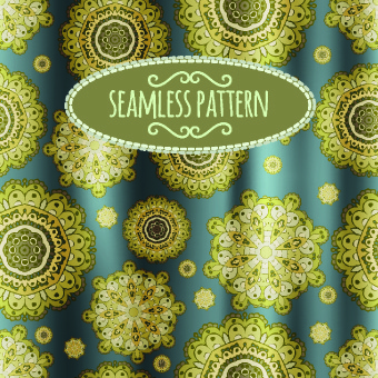 luxury silks and satins pattern background vector