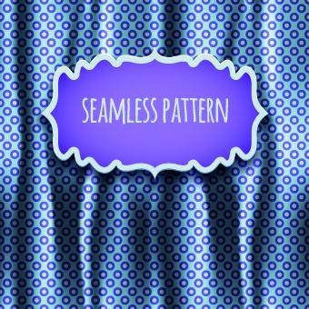 luxury silks and satins pattern background vector