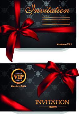 luxury vip invitation cards