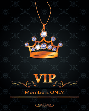 luxury vip invitation cards
