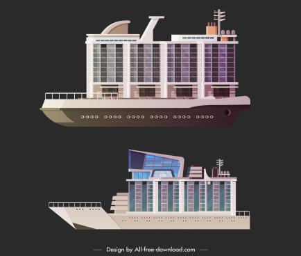 luxury yacht icon modern storeys decor
