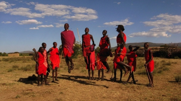 maasai tribe kenya sky