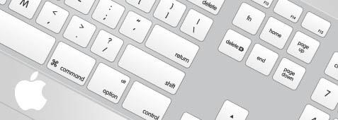 Mac Apple keyboard