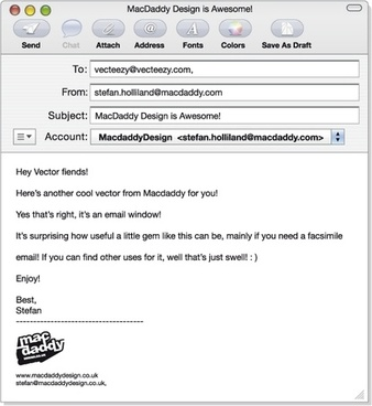 Macdaddy Design – email