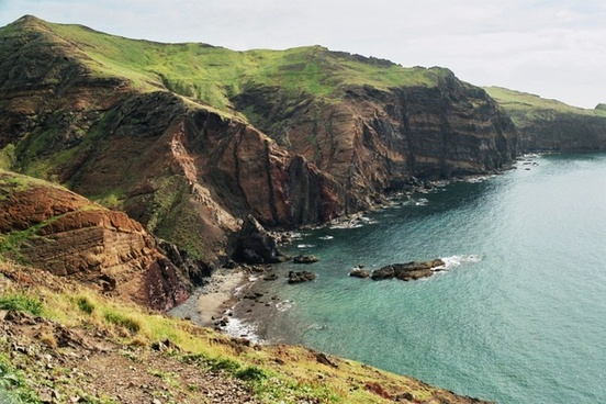 madeira east coast landscape