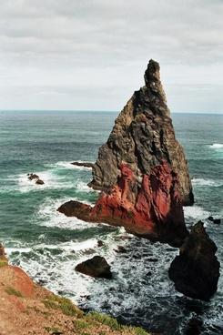 madeira east coast rock