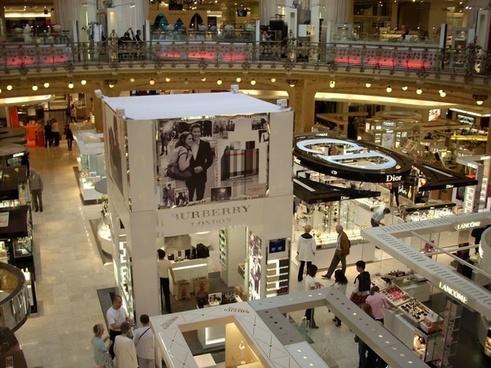 magasin de lafayette detail shopping