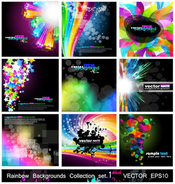 magic abstract colored background 1 vector graphic