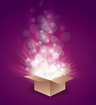 magic box vector graphic