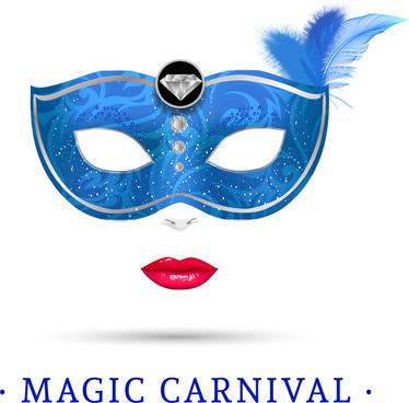 magic carnival mask