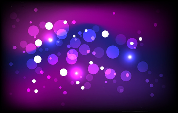 magic vector sparkling background