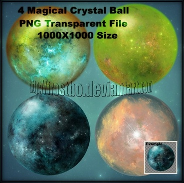 Magical Crystal Ball Brushes