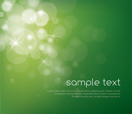 magical green vector graphic