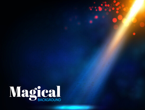 magical light background art vector