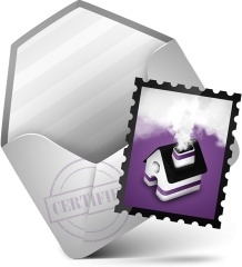 Mail Purple