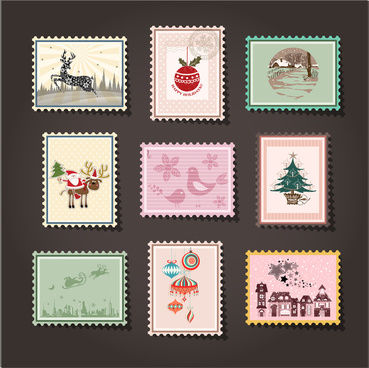 mail stamp collection