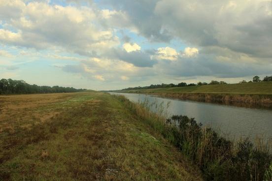 main river channel at st sebastion river state park florida